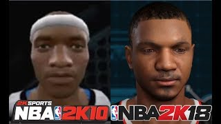 Download Chris Smoove MyPlayer's Creation From NBA 2K10 To NBA 2K18 Video