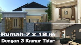 Download rumah 7 x 18 m dengan Interior luas Video