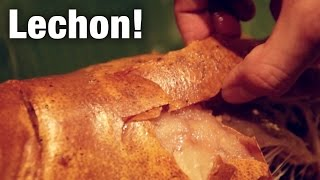 Download Lechon (Roast Suckling Pig) at Pepita's Kitchen Video