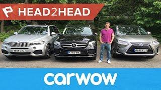 Download BMW X5 vs Mercedes GLE vs Lexus RX review | Head2Head Video