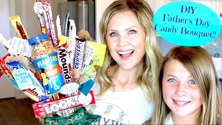 Download DIY Father's Day Candy Bouquet!! Video