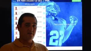 Download FanDuel & DraftKings NBA Optimal Cash Lineups for 12/1/2016 Video