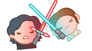 Download Star Wars The Force Awakens as told by Emoji | Disney Video
