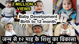 Download Baby development from 0 to 12 month. Video