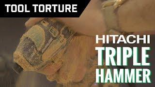 Download Tool Torture: Hitachi Triple Hammer Brushless Impact Driver Video