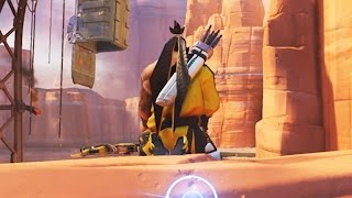 Download Overwatch Funny Moments 35 - Hanzo Gets An Easy Kill Video