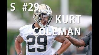 Download Kurt Coleman raw footage from Saints minicamp Video