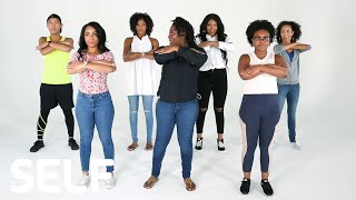 Download Baltimore Step Team Challenges Dancers to Keep Up With Them | SELF Video