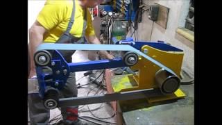 Download Szlifierka tasmowa wlasnej roboty Video