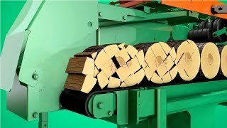 Download Amazing Modern Firewood Processing Machine Technology, Extreme Fast Wood Processor Video