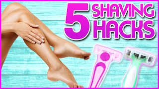 Download 6 Shaving Hacks You NEED To Know w/ Ashley Elizabeth! Video