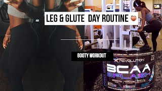 Download LEG DAY / GLUTE DAY WORKOUT | BUILD A BIGGER BOOTY Video
