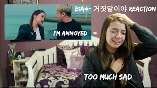 Download B1A4- 거짓말이야 Reaction Video