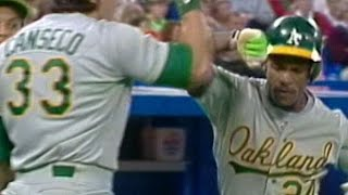 Download 1989ALCS Gm4: Rickey starts scoring with two-run shot Video