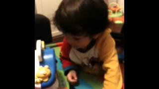 Download Just 2 years old and 4 months know the alphabet in English and Spanish Video