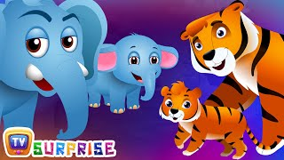 Download Surprise Eggs Wildlife Toys | Learn Baby Wild Animals & Animal Sounds | ChuChu TV Surprise for Kids Video