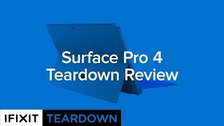 Download Surface Pro 4 Teardown Review! Video