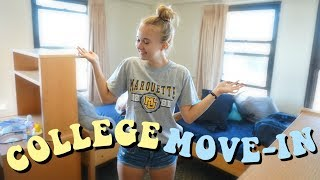 Download COLLEGE MOVE IN VLOG 2018 | Marquette University Video