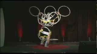 Download Hoop dance performance: Lisa Odjig at TEDxSenecaCollege Video