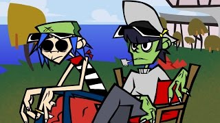 Download Murdoc and 2D Explain how Gorillaz met Video