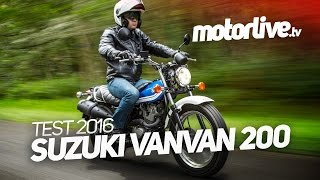 Download SUZUKI VAN VAN 200 | TEST 2016 Video