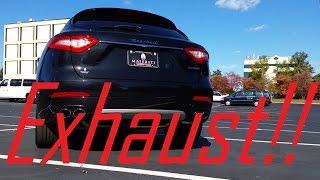 Download 2017 Maserati Levante S: Exhaust, Acceleration and POV! Video