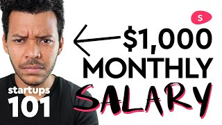 Download Starting a Business: Startup Founder Salary and Stock Vesting Video
