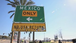 Download Migrants trying to enter the U.S. are trapped in Tijuana Video