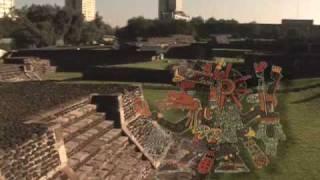 Download Templo Ehécatl, Quetzalcóatl, zona arqueológica Tlatelolco Video