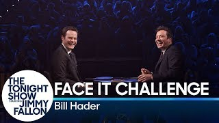 Download Bill Hader and Jimmy Fallon Try Not to Break Playing the Face It Challenge Video