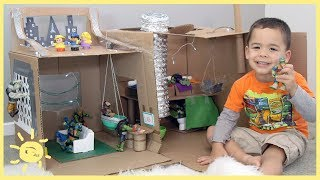 Download PLAY | Ninja Turtle Lair! (Cardboard Box) Video