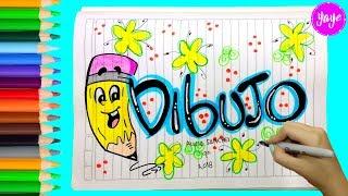Download IDEAS PARA MARCAR CUADERNOS-Cómo hacer portada de DIBUJO Video