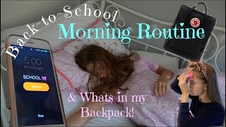 Download Back to School Morning Routine & What's in my Backpack! Video