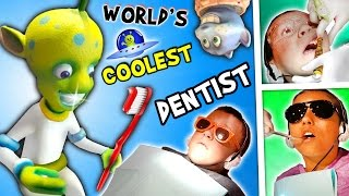 Download WORLD'S COOLEST DENTIST!! Outer Space Cavities Search / Bloody Storm / Wisdom (FUNnel Vision Vlog) Video