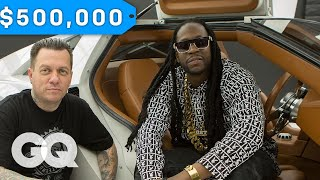 Download 2 Chainz Geeks Out Over a $500K DeLorean by West Coast Customs | Most Expensivest Sh*t Video
