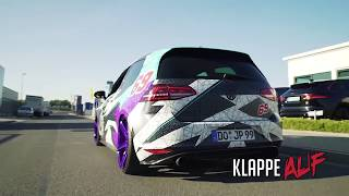 Download VOLKSWAGEN VW GOLF 7 VII GTI W/ ARMYTRIX FLAP EXHAUST AMAZING SOUNDS! Video