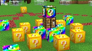 Download YOUTUBER MINECRAFT LUCKY BLOCK HUNGER GAMES Video