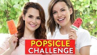 Download POPSICLE CHALLENGE! w/ Ingrid Nilsen Video