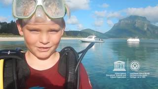 Download Julian #MyOceanPledge Lord Howe Island Group World Heritage marine site Video
