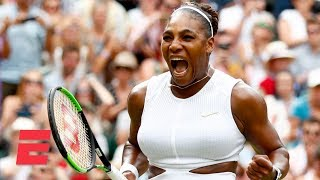 Download Serena Williams beats Alison Riske in 3 sets, advances to semifinals | 2019 Wimbledon Highlights Video