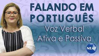 Download Falando em Português Voz Verbal Ativa e Passiva Video