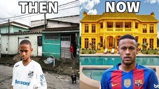 Download 10 Footballers Houses - Then and Now - Ronaldo, Neymar, Messi, ...etc Video
