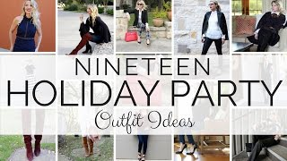 Download NINETEEN Holiday Party Oufit Options | BusbeeStyle com Video