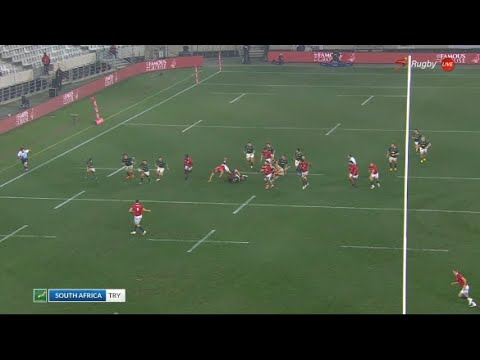 MasterPlan | Analysing Cheslin Kolbe's try and the Springbok counter-attacking decision making