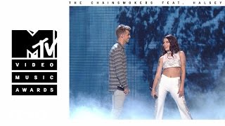 Download The Chainsmokers - Closer (Live from the 2016 MTV VMAs) ft. Halsey Video