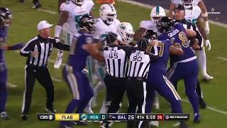Download Ndamukong Suh Shoves Ryan Mallett Leading to Fight | Dolphins vs. Ravens | NFL Video