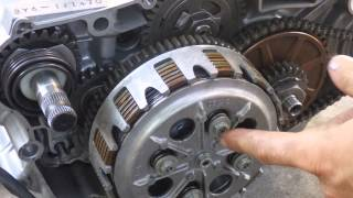 Download How a motorcycle clutch works Video