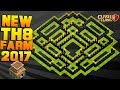 Download NEW TOWN HALL 8 FARMING/TROPHY BASE 2017! TH8 HYBRID BASE FT. DOUBLE CANNON!! - CLASH OF CLANS(COC) Video