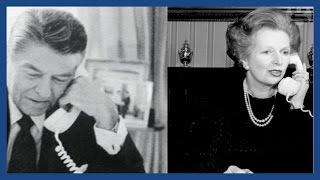 Download Ronald Reagan says 'sorry' to Margaret Thatcher in private phone call Video