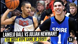 Download LaMelo Ball vs Julian Newman!!! The Most HYPED Game Of The Year!! SH*T GOT WILD!! Video